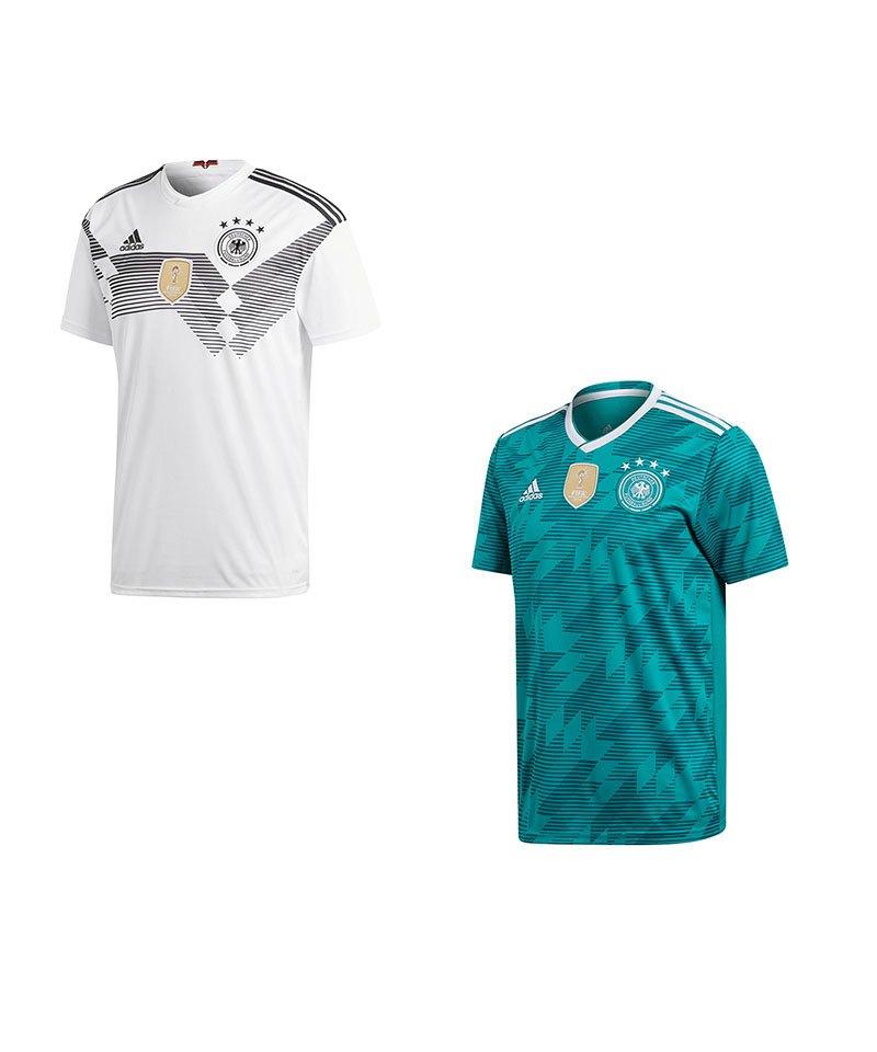 ADIDAS ORIGINALS DFB WM Trikot Deutschland away L 2018 1990