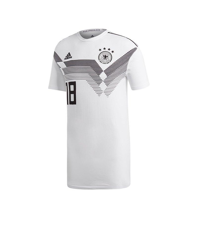 adidas DFB Deutschland Trikot Home Knit Weiss