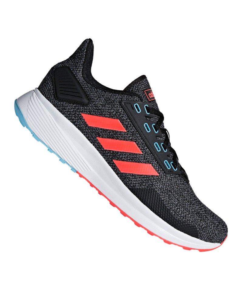adidas Duramo 9 Running Schwarz Rot - schwarz