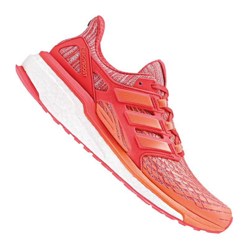 adidas Energy Boost Running Damen Orange Rot