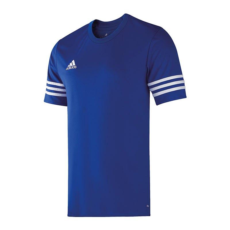 adidas entrada 14 trikot kurzarm blau weiss mannschaft teamsport ausr stung spiel. Black Bedroom Furniture Sets. Home Design Ideas
