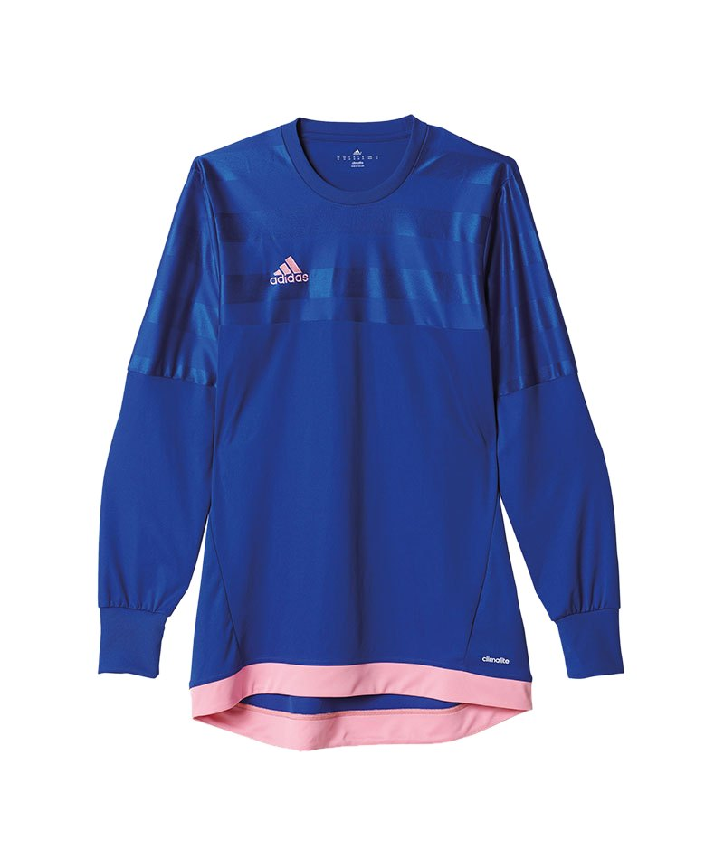 adidas entry 15 goalkeeper trikot blau pink torh ter torwart jersey langarm teamsport. Black Bedroom Furniture Sets. Home Design Ideas