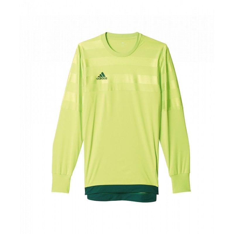 adidas entry 15 goalkeeper trikot gelb gr n torh ter torwart jersey langarm teamsport. Black Bedroom Furniture Sets. Home Design Ideas
