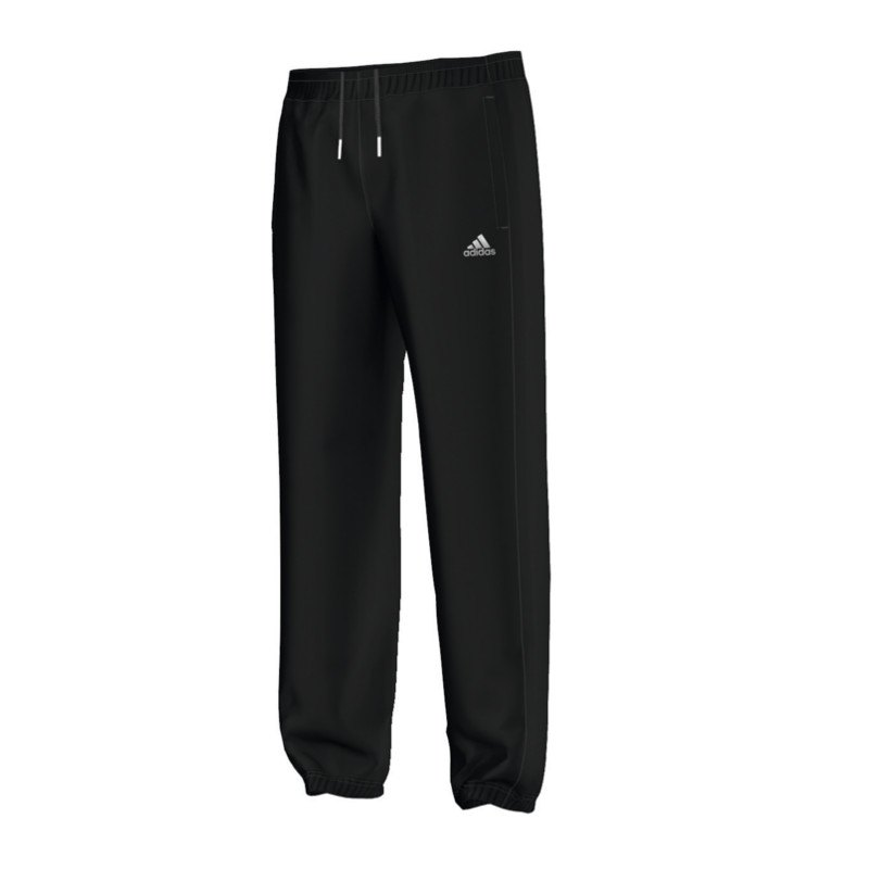 adidas essentials pant running hose schwarz laufhose. Black Bedroom Furniture Sets. Home Design Ideas