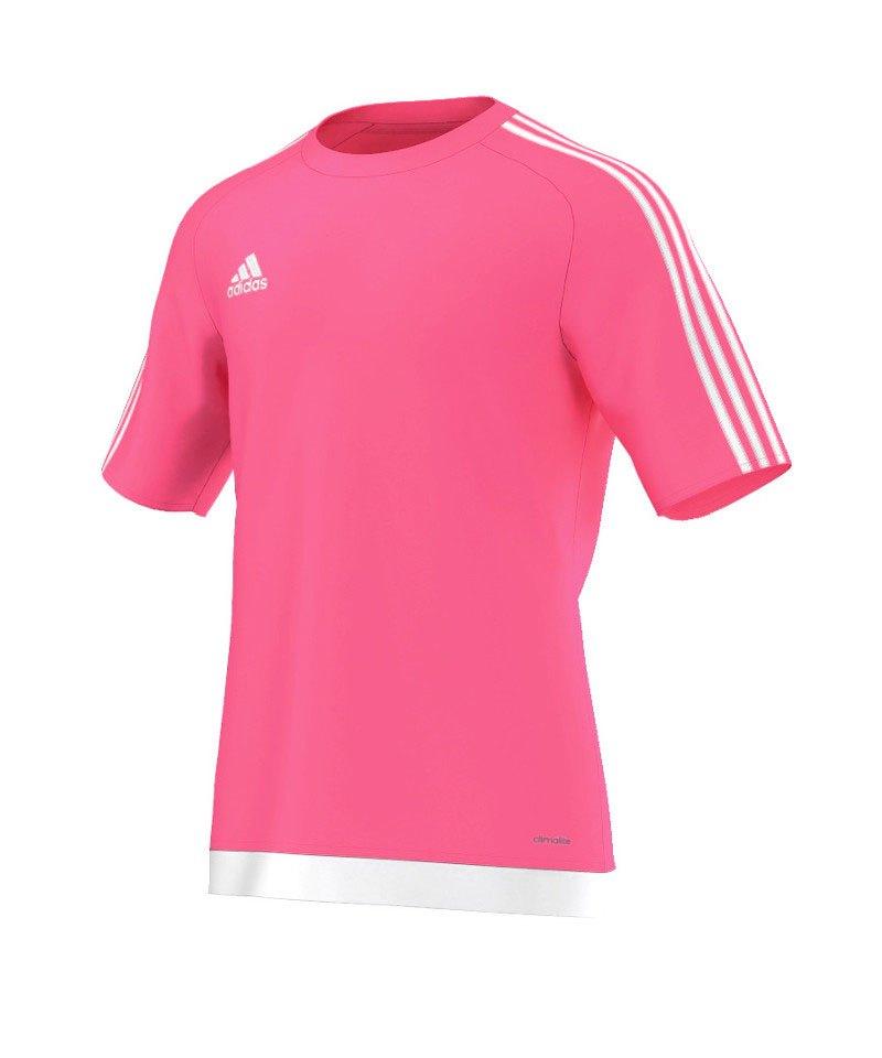 adidas Estro 15 Trikot kurzarm Kids Pink Weiss