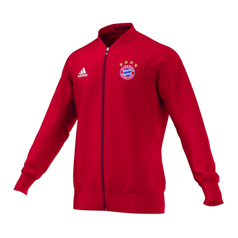 adidas fc bayern m nchen anthem jacket jacke fanshop. Black Bedroom Furniture Sets. Home Design Ideas