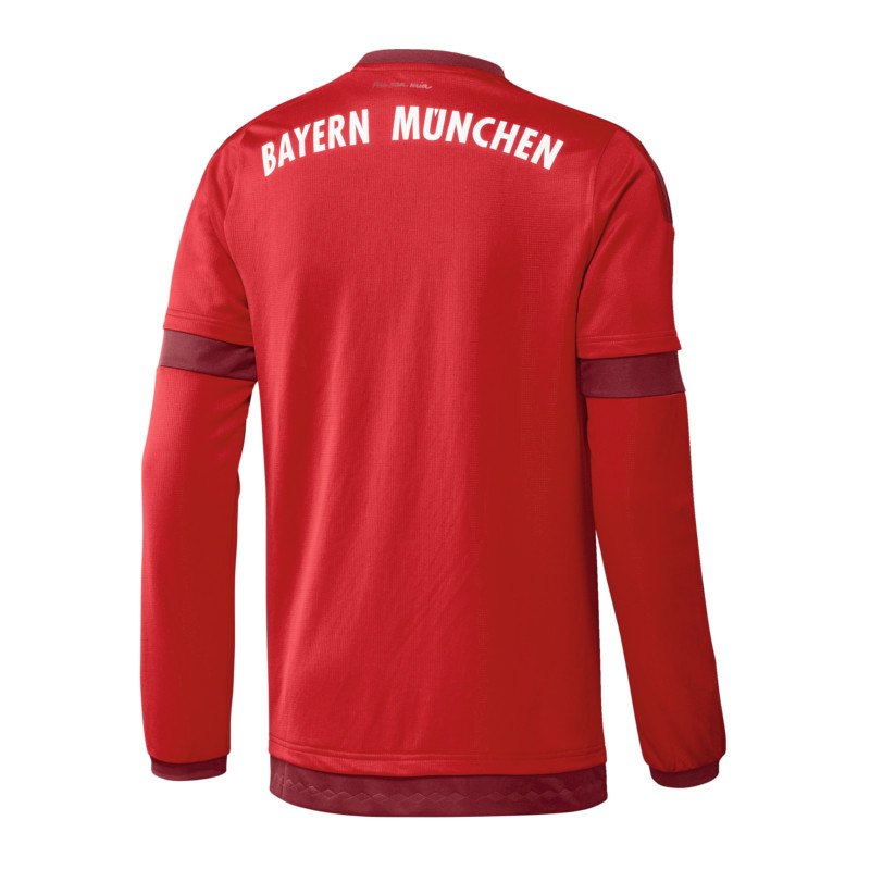 adidas fc bayern m nchen trikot home la 2015 2016 rot. Black Bedroom Furniture Sets. Home Design Ideas