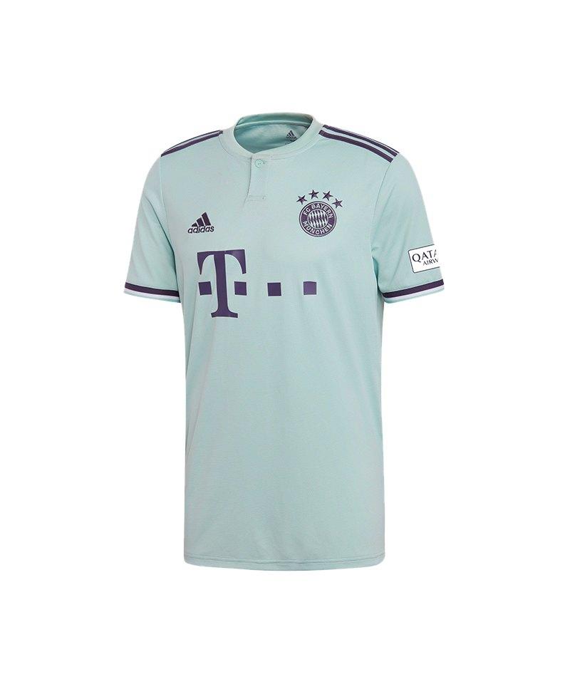 cde8e1b1da2661 adidas FC Bayern München Trikot Away 2018 2019 Grün - gruen
