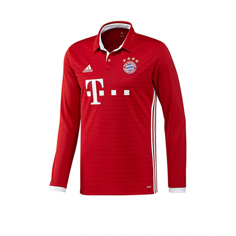 adidas fc bayern m nchen trikot home la 16 17 rot jersey. Black Bedroom Furniture Sets. Home Design Ideas
