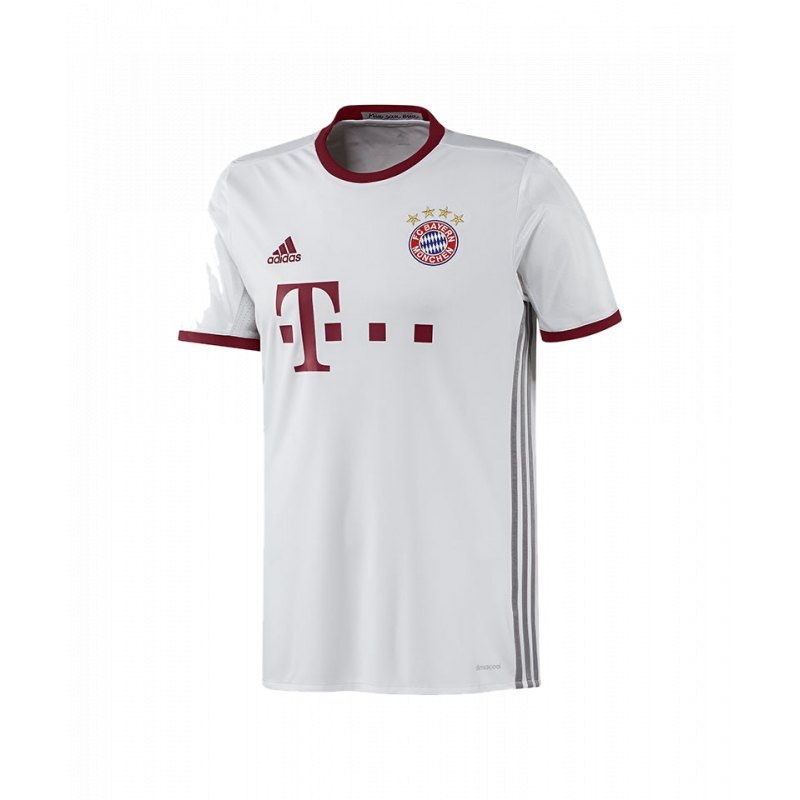 adidas fc bayern m nchen trikot ucl kids 2016 17 jersey. Black Bedroom Furniture Sets. Home Design Ideas