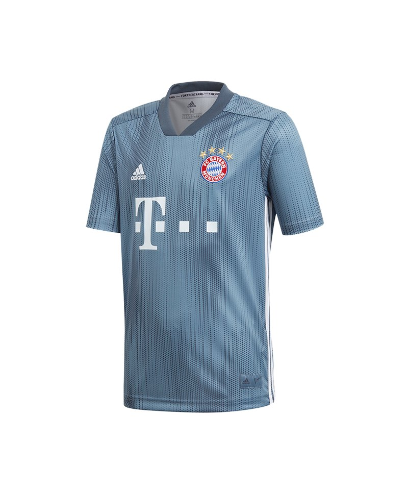 san francisco 771c0 d0af2 adidas FC Bayern München Trikot UCL Kids 2018/2019 Grau