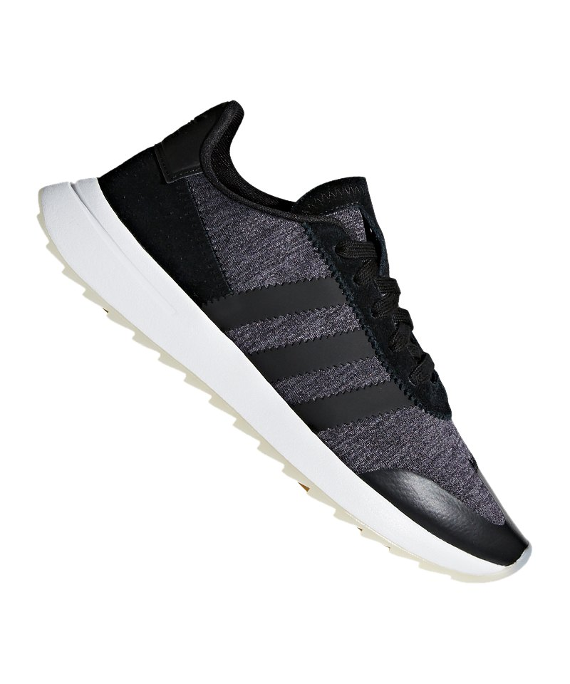 low priced a7f5f da5aa adidas Originals FLB Runner Sneaker Damen Schwarz - schwarz