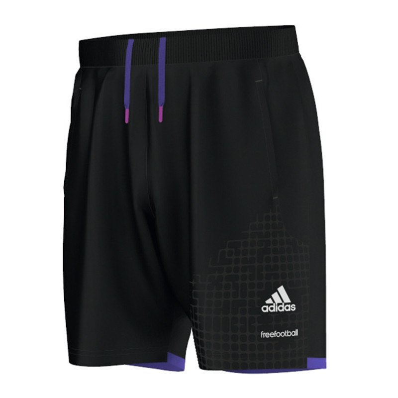 adidas freefootball short hose kurz schwarz. Black Bedroom Furniture Sets. Home Design Ideas
