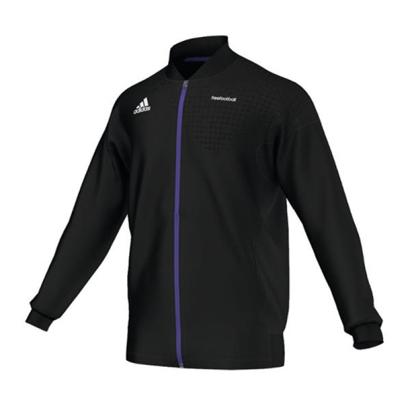 adidas freefootball sweatjacke schwarz trainingsjacke. Black Bedroom Furniture Sets. Home Design Ideas