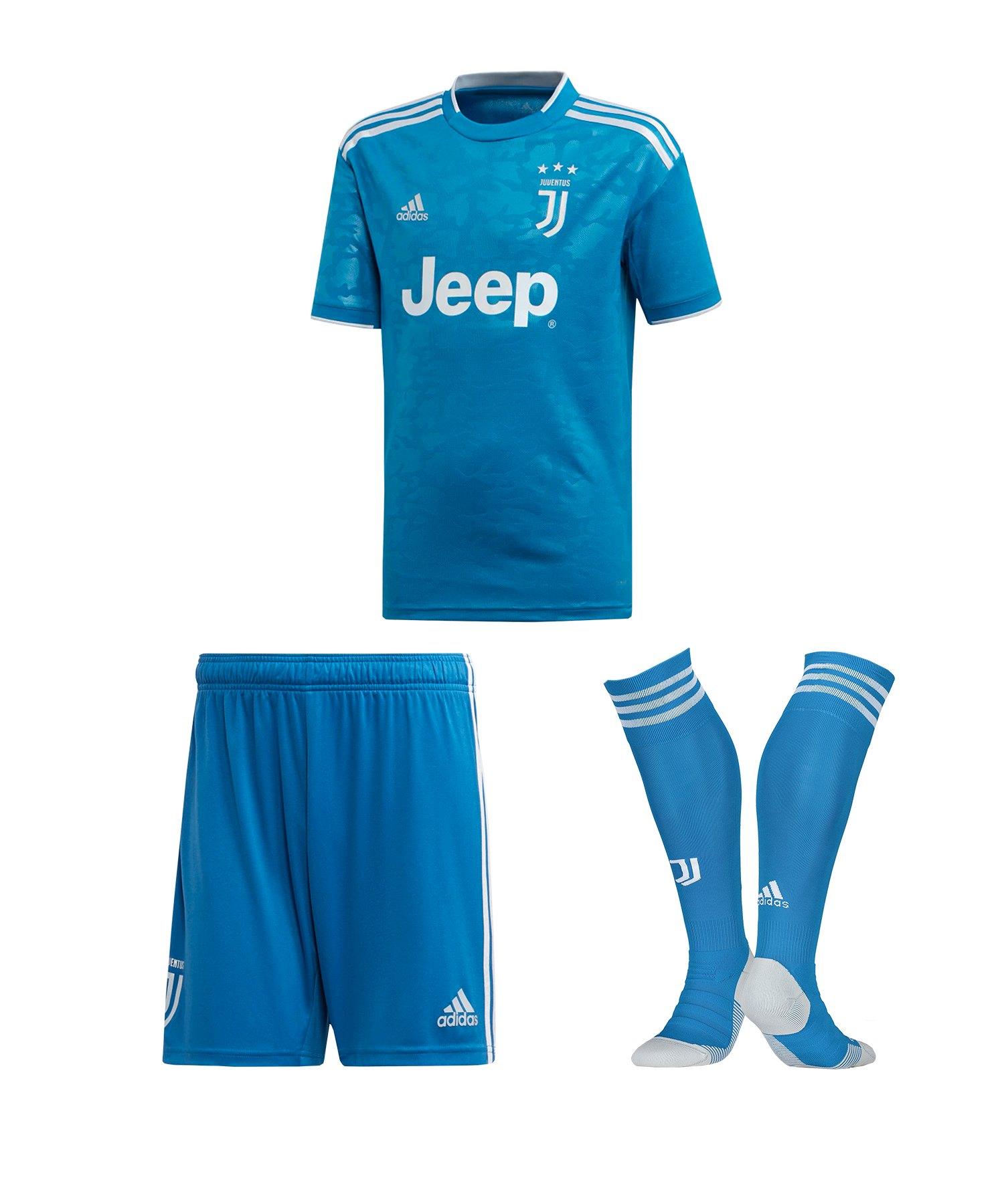 adidas Juventus Turin Trikotset UCL 20192020 Kids Blau