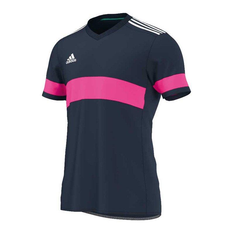 adidas konn 16 trikot kurzarm blau pink teamsport vereinsausstattung m nner herren men. Black Bedroom Furniture Sets. Home Design Ideas
