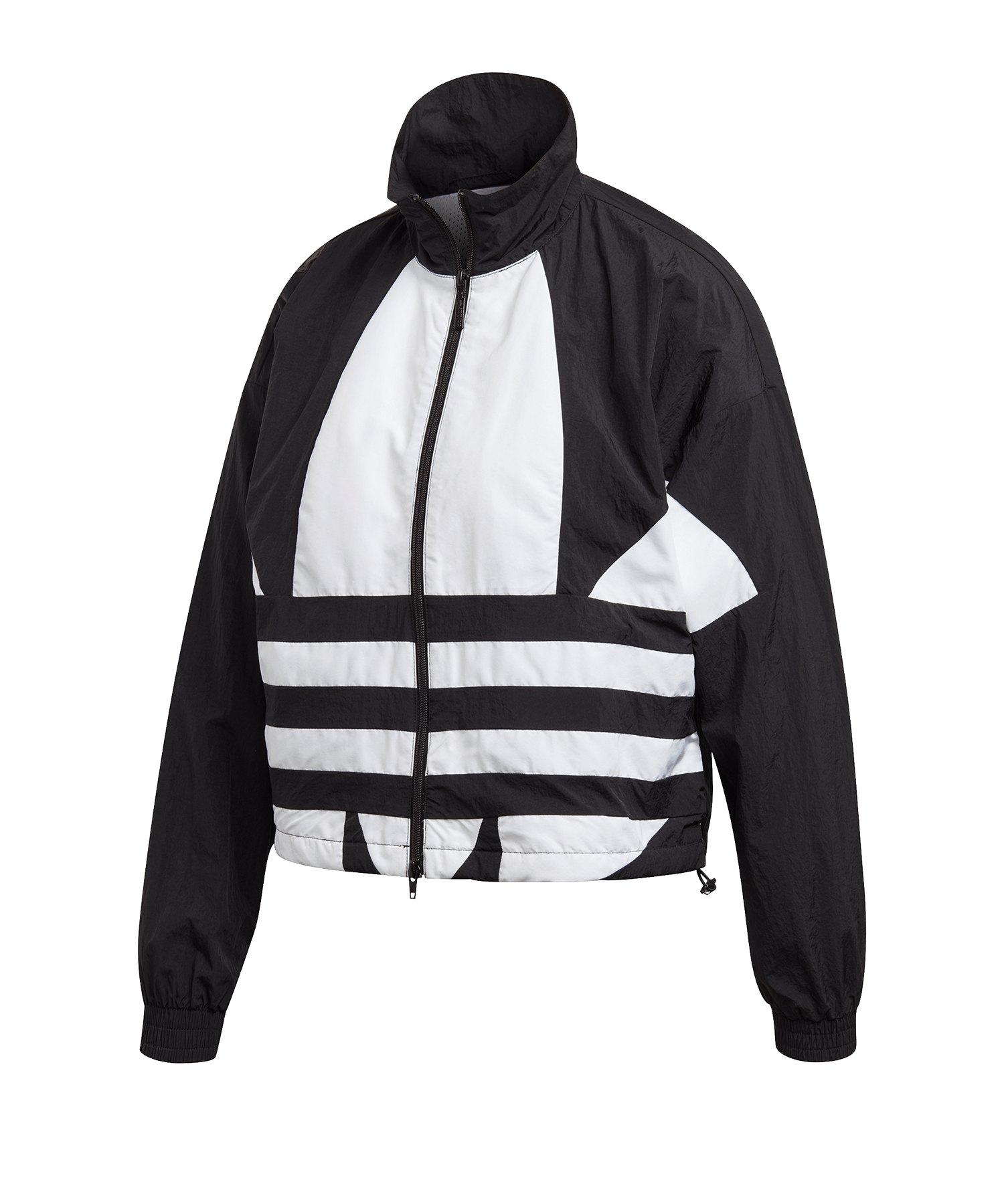 adidas sweatshirt damen schwarz mit logo an der seite