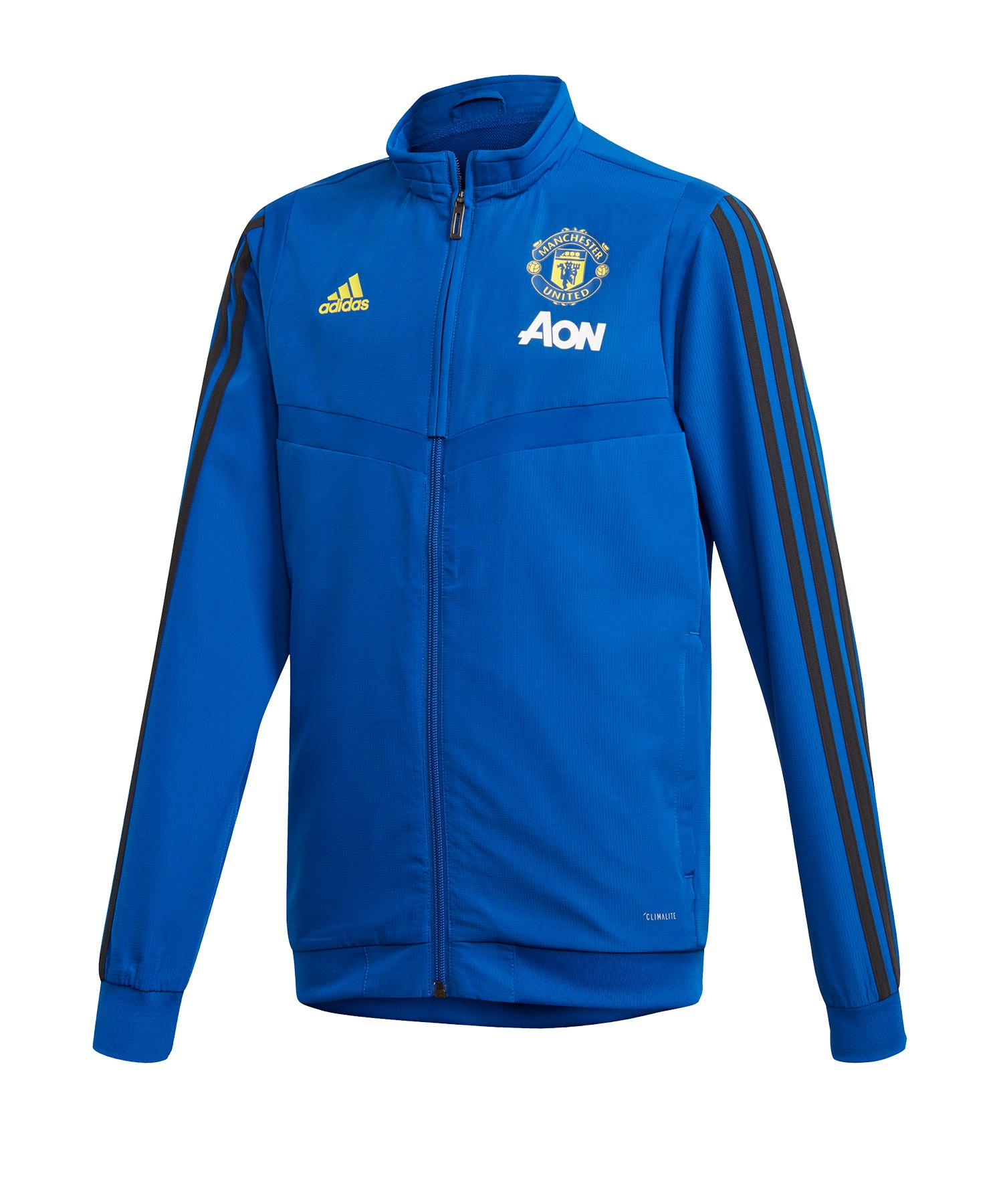 adidas Manchester United Anthem Jacket Kids Rot Sport 1a