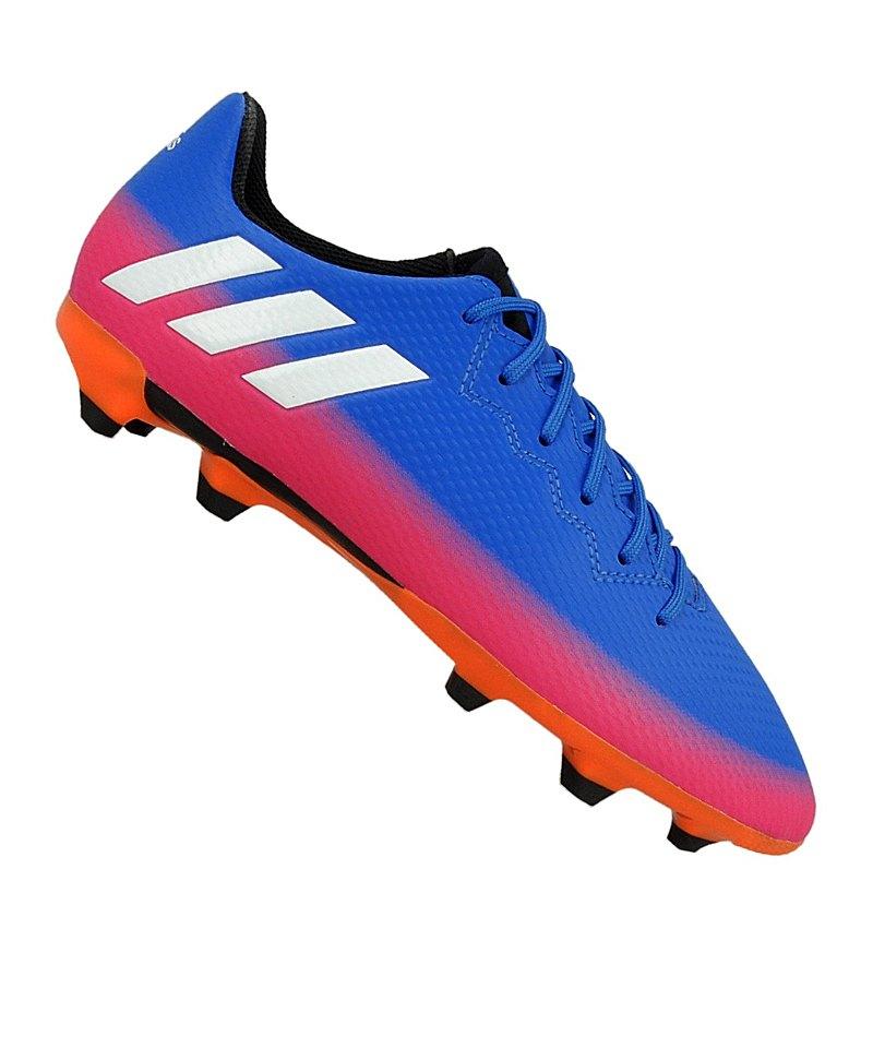 090f89859ff976 adidas Messi 16.3 FG J Kids Blau Weiss Orange - blau