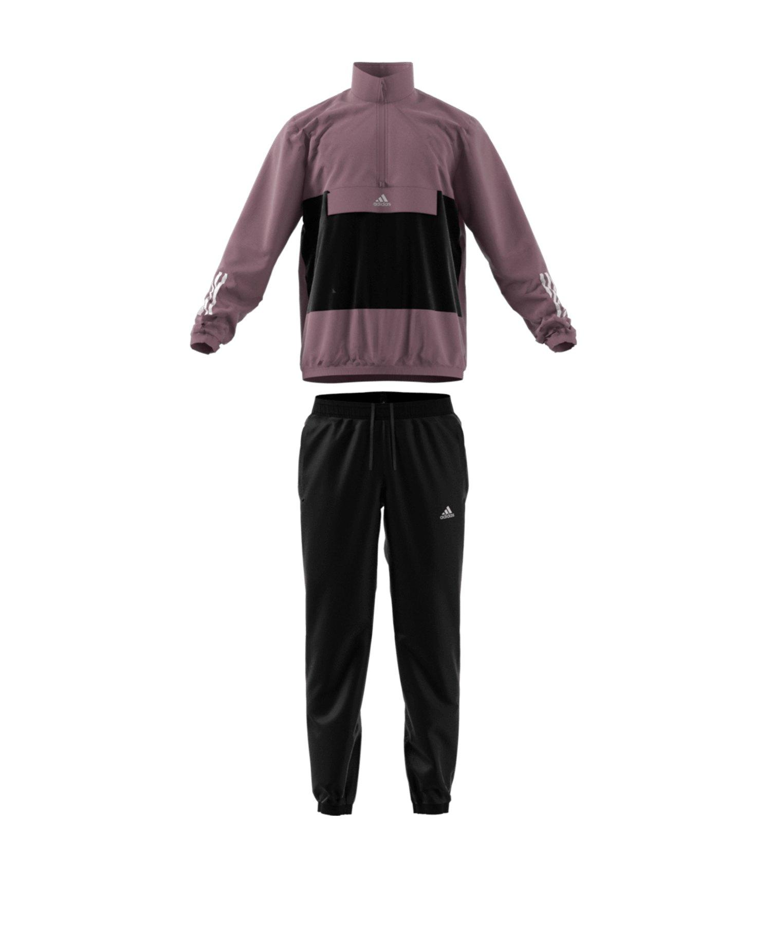 Adidas Anzug schwarz weiß S Neu