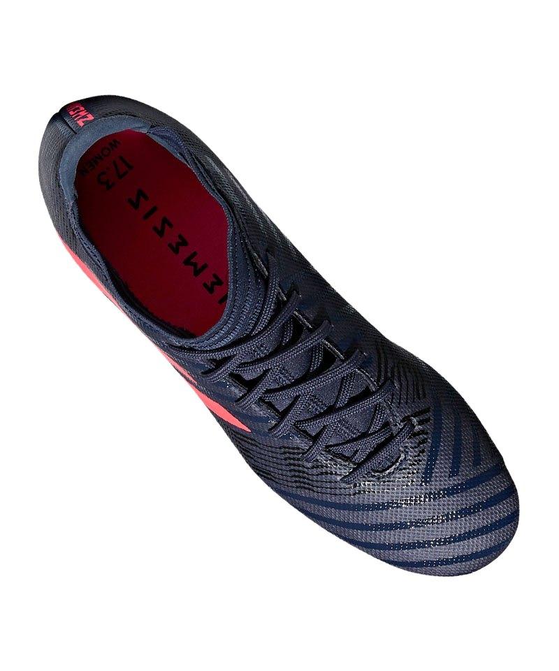 adidas NEMEZIZ 17.3 FG Damen Blau Pink