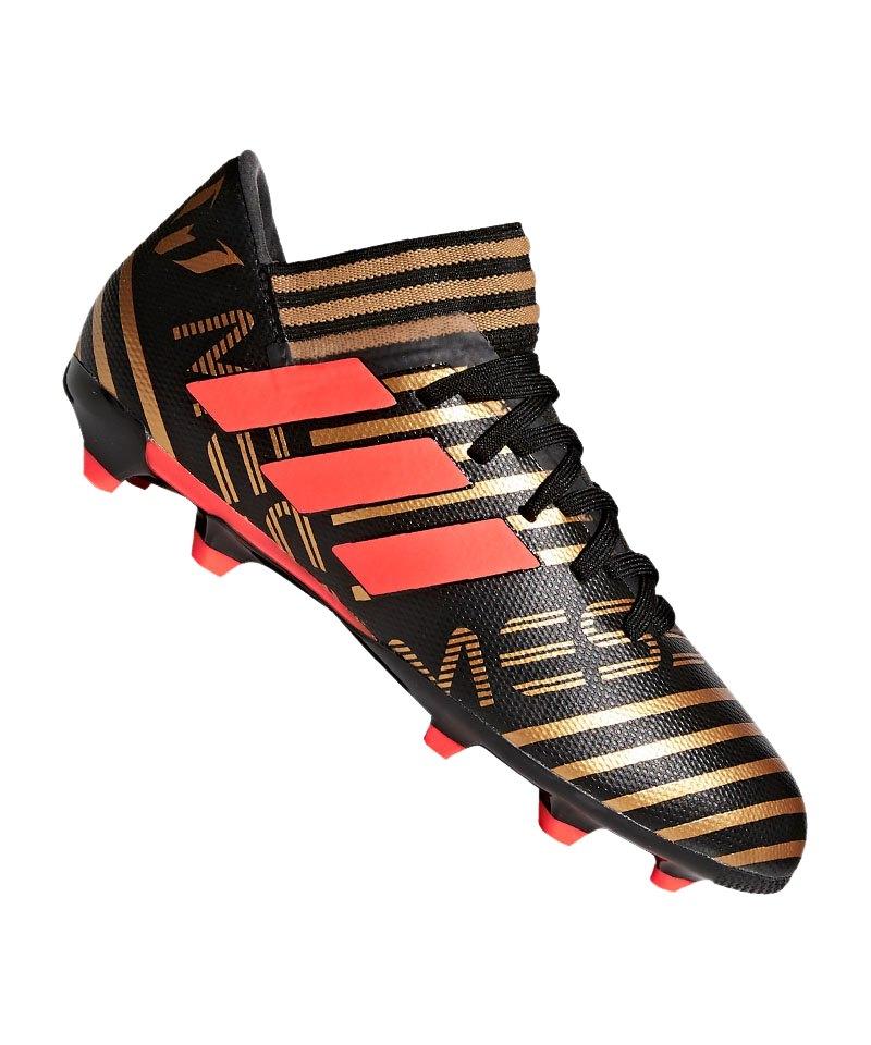adidas NEMEZIZ Messi 17.3 FG J Kids Schwarz Rot