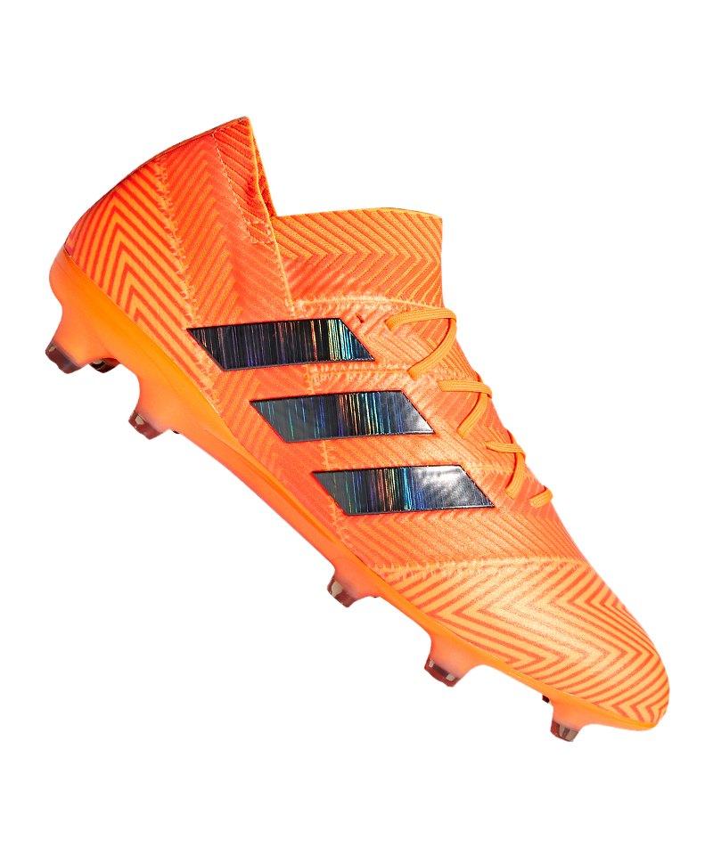 fußballschuhe adidas spikes orange schwarz