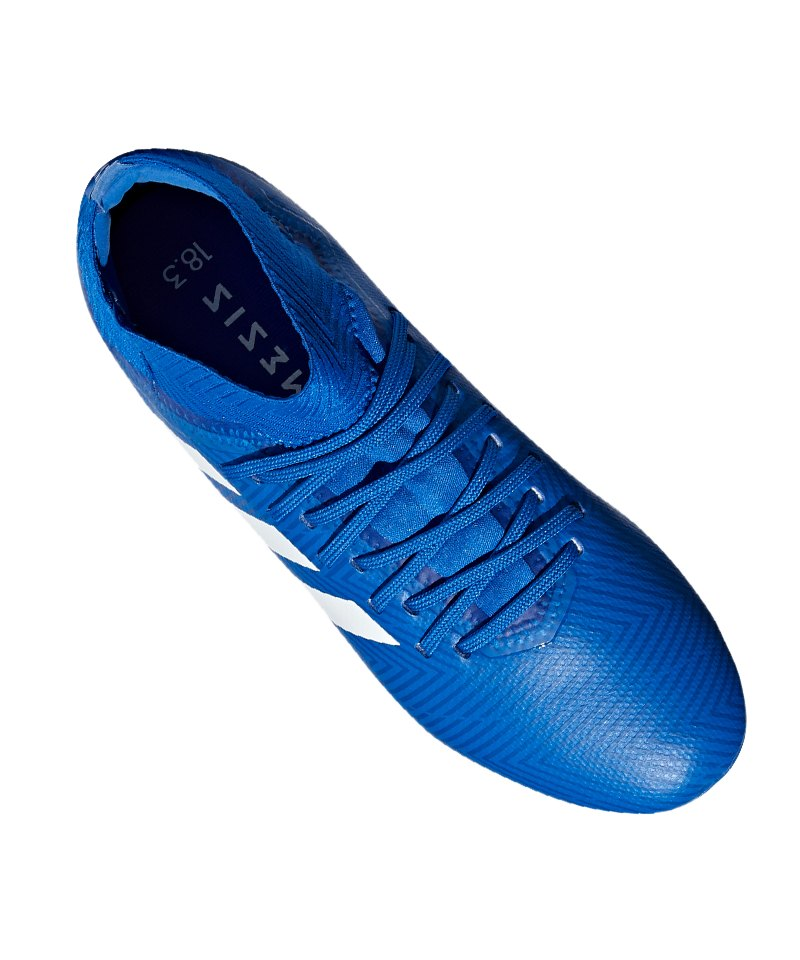 1a4fee22c298 ... adidas NEMEZIZ 18.3 AG J Kids Blau Weiss - blau ...