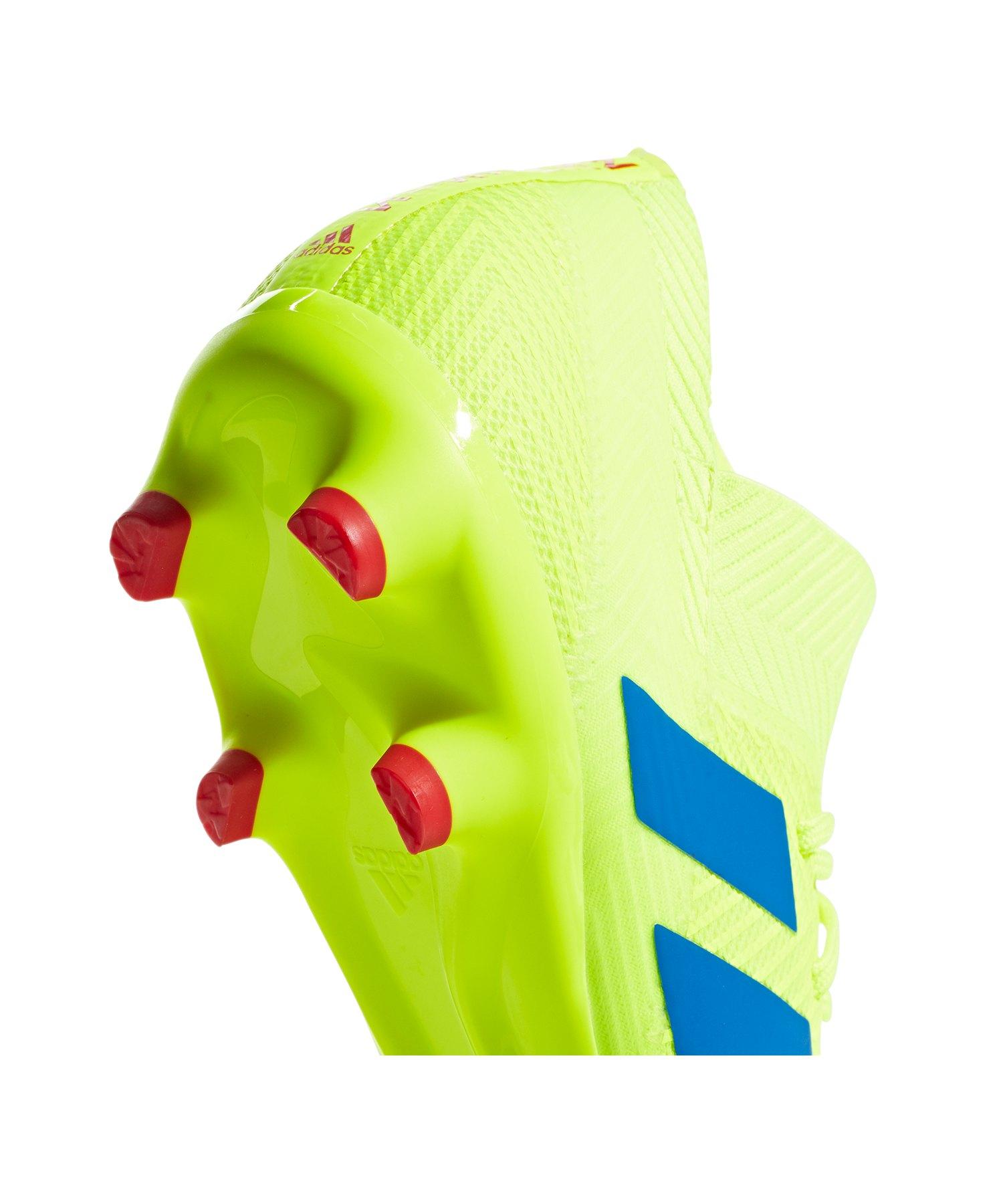 ... adidas NEMEZIZ 18.3 FG Gelb Blau - gelb ... d8abaeae93a