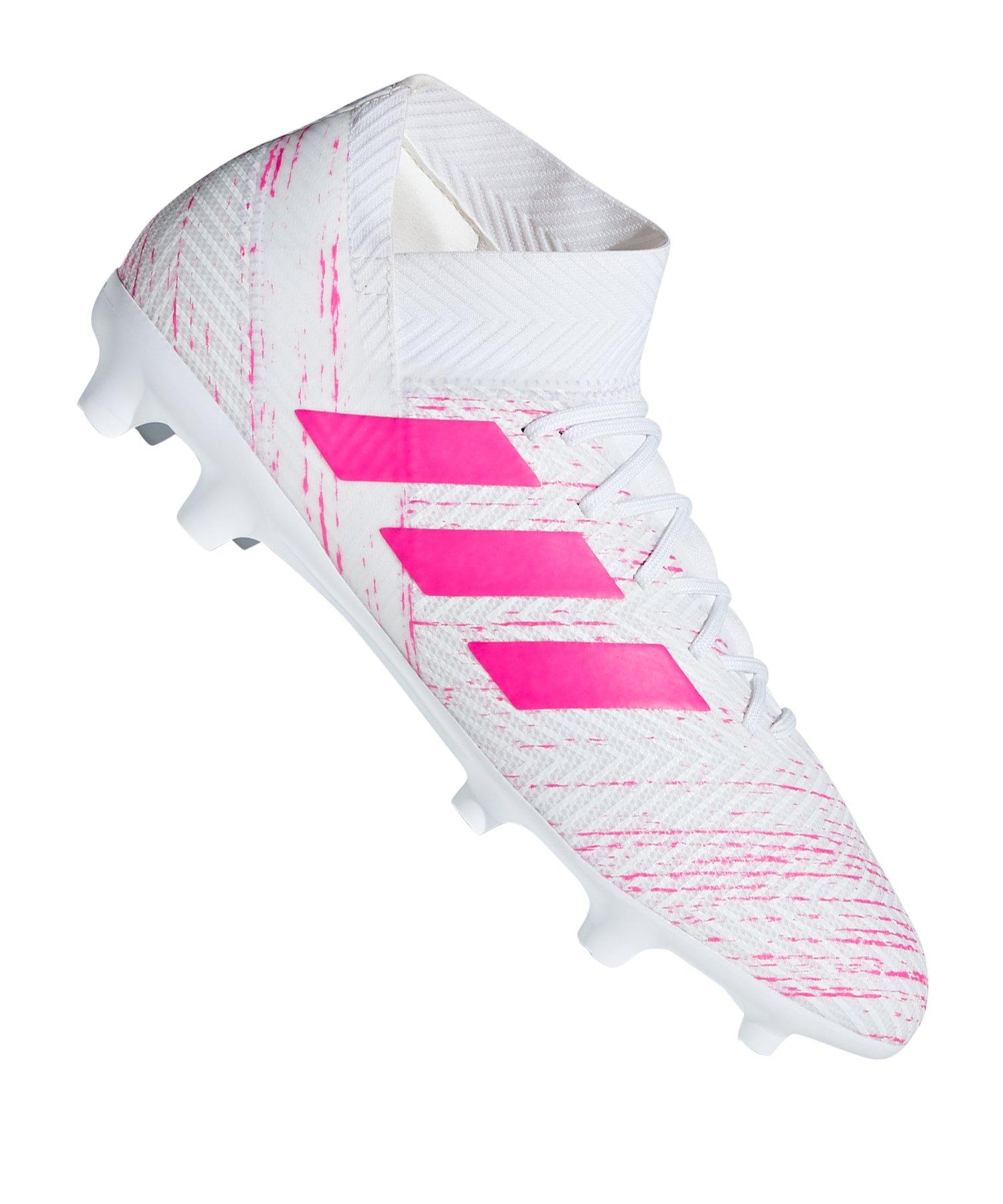 Adidas Nemeziz 18 3 Fg Weiss Pink