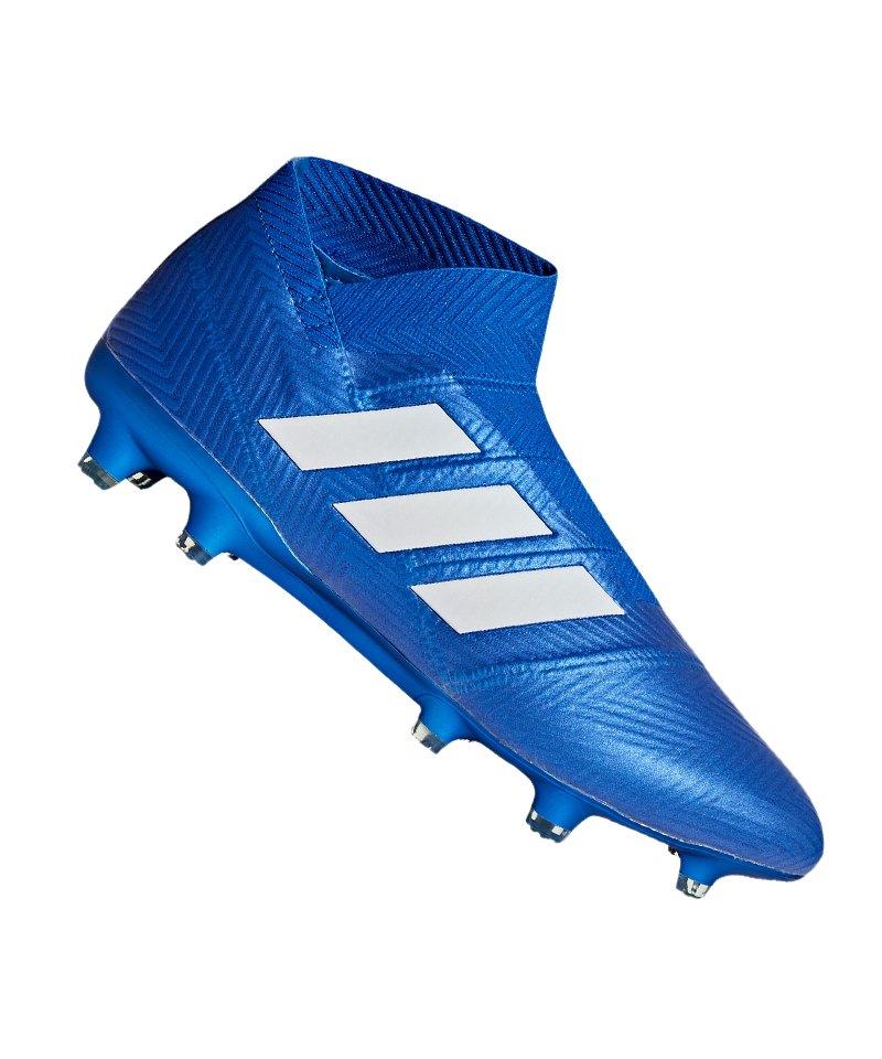 adidas NEMEZIZ 18+ FG Blau Weiss