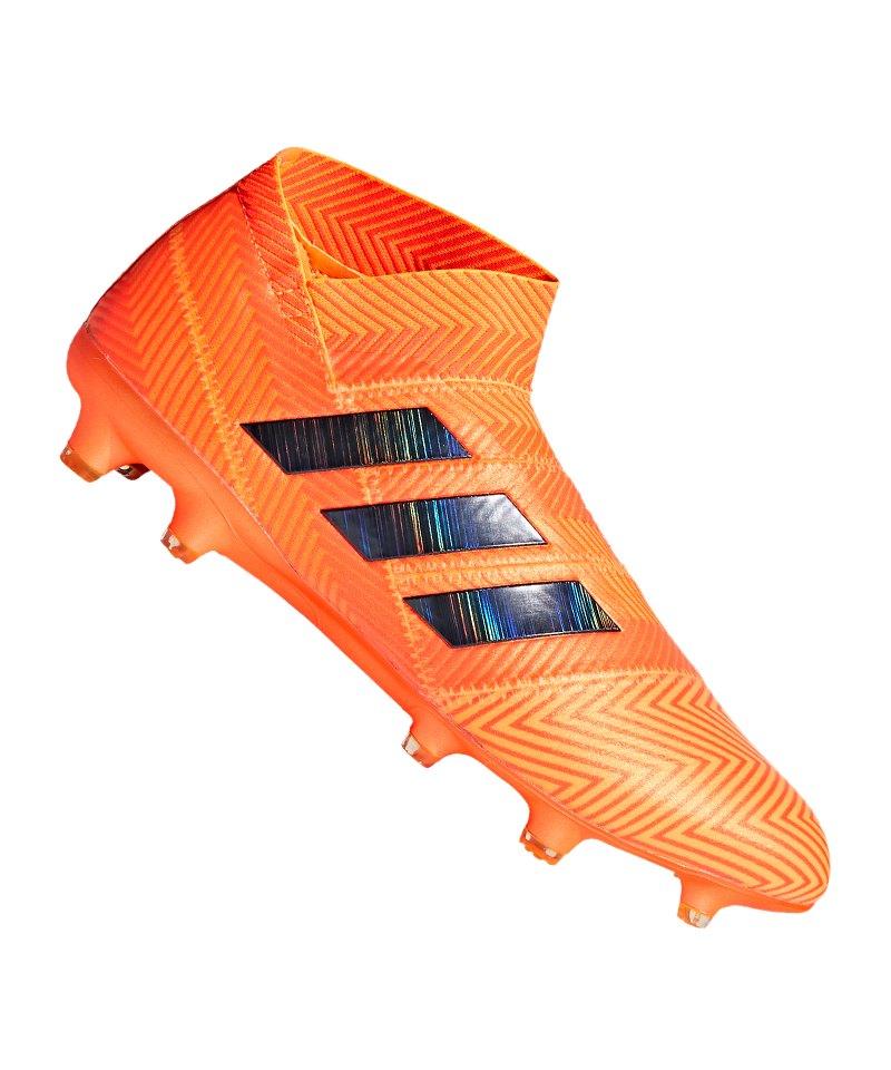 adidas NEMEZIZ 18+ FG Orange Schwarz