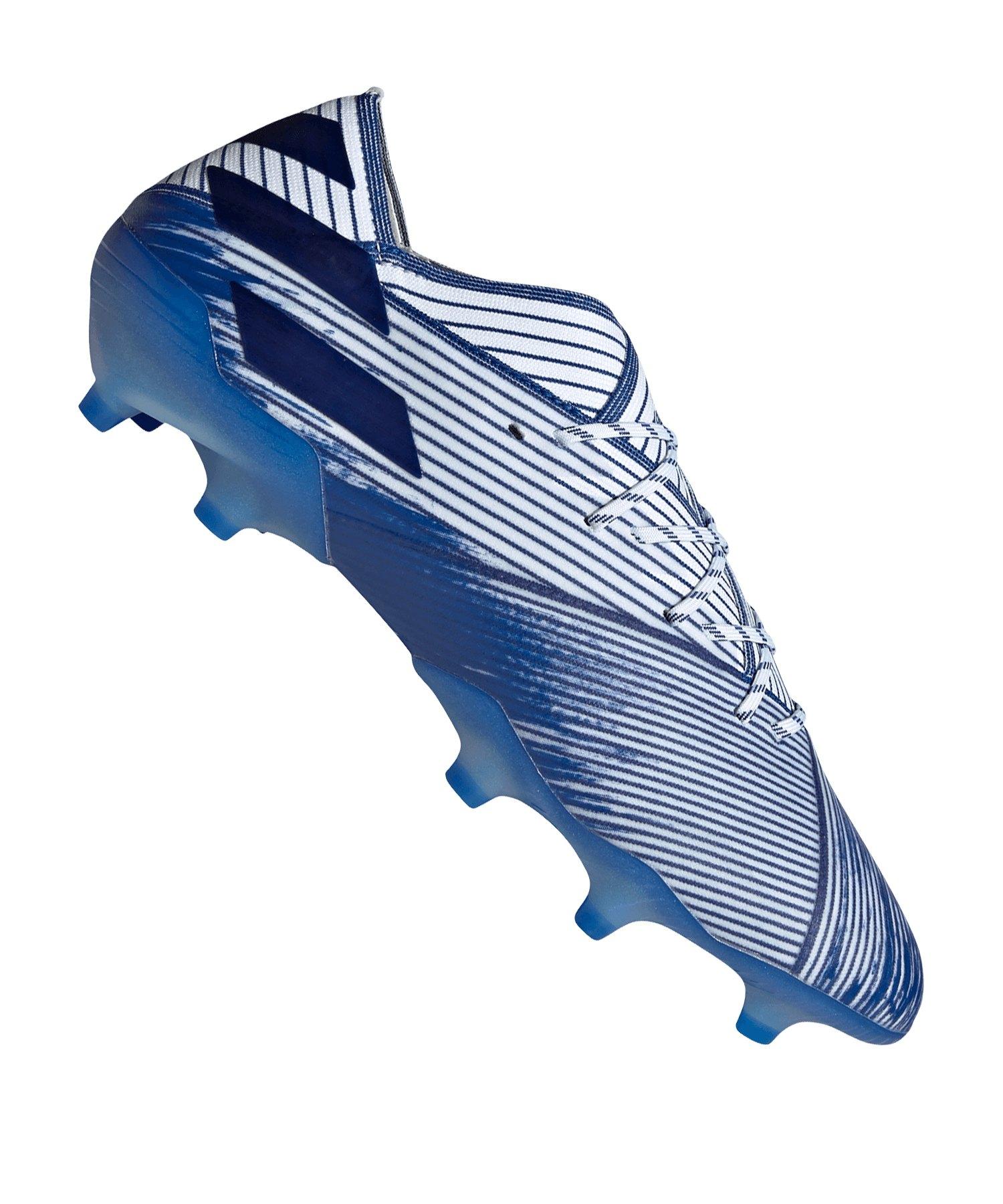 adidas NEMEZIZ 19.1 FG Weiss Blau