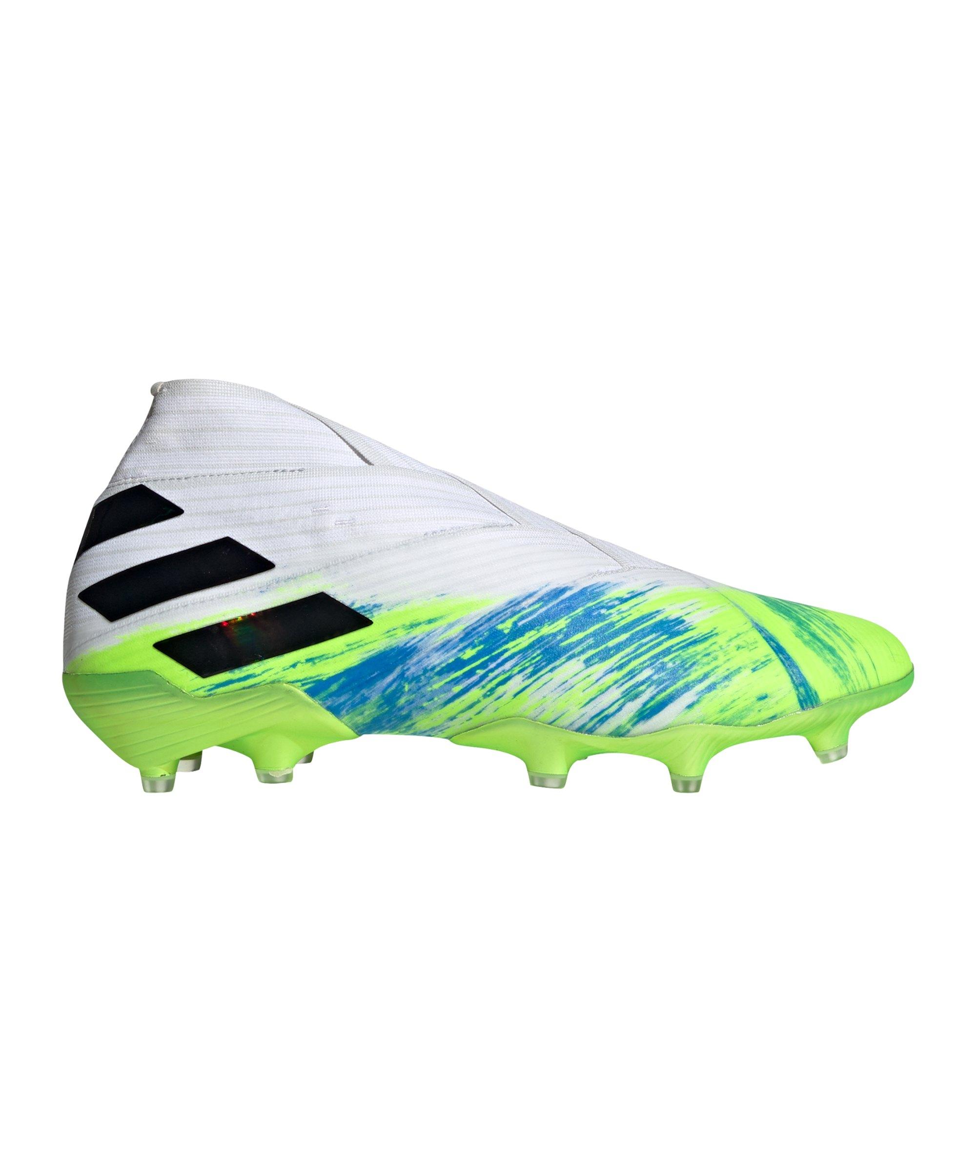 Adidas NEMEZIZ Uniforia 19+ FG Weiss Grün