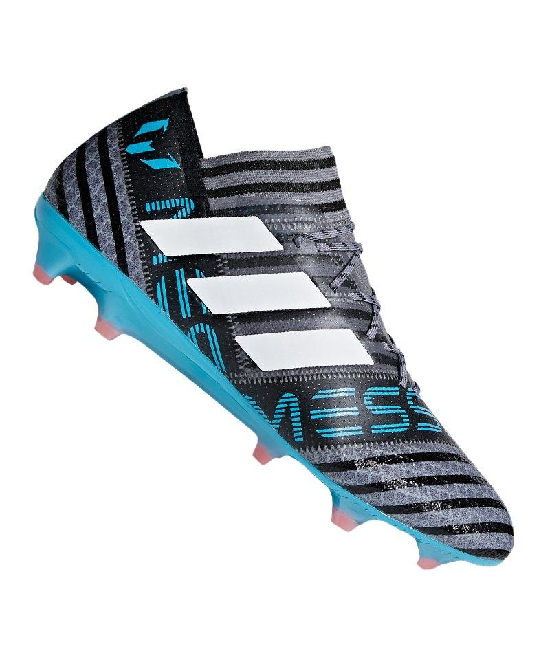 adidas NEMEZIZ Messi 17.1 FG Grau Blau grau 46 2/3 rZe28r