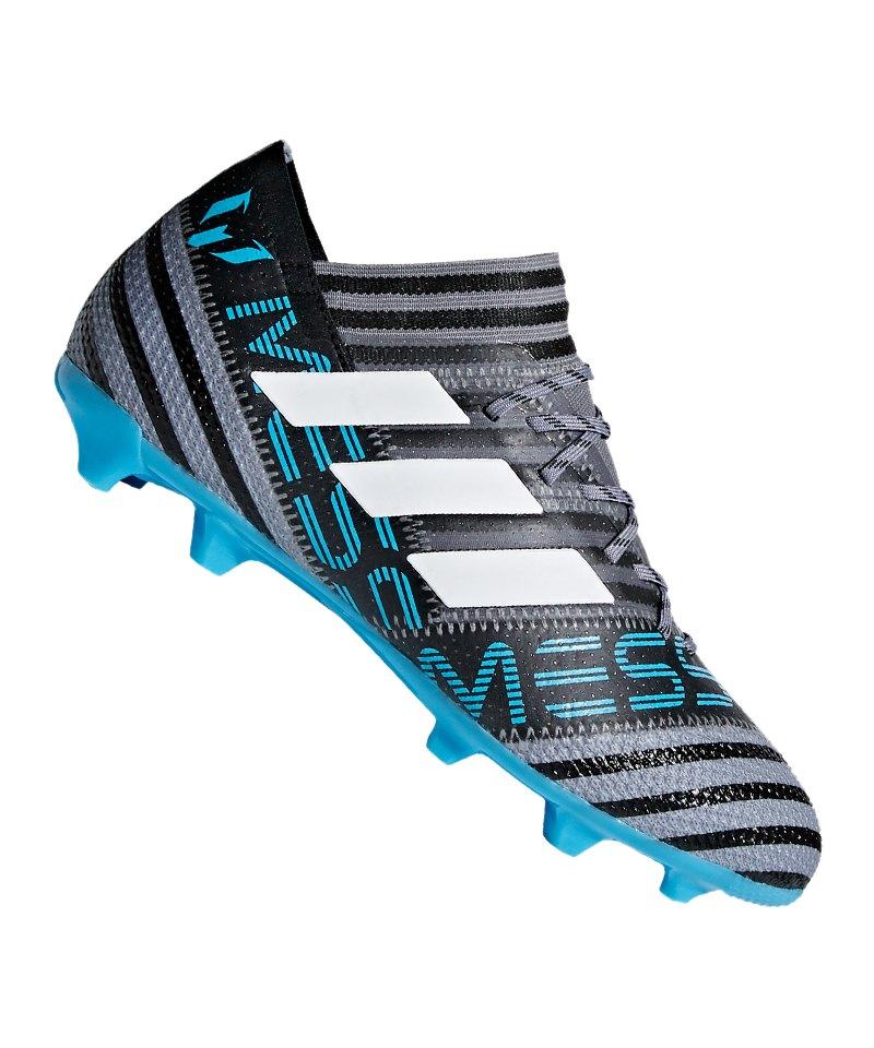 adidas NEMEZIZ Messi 17.1 FG J Kids Grau Blau - Grau e658ac601