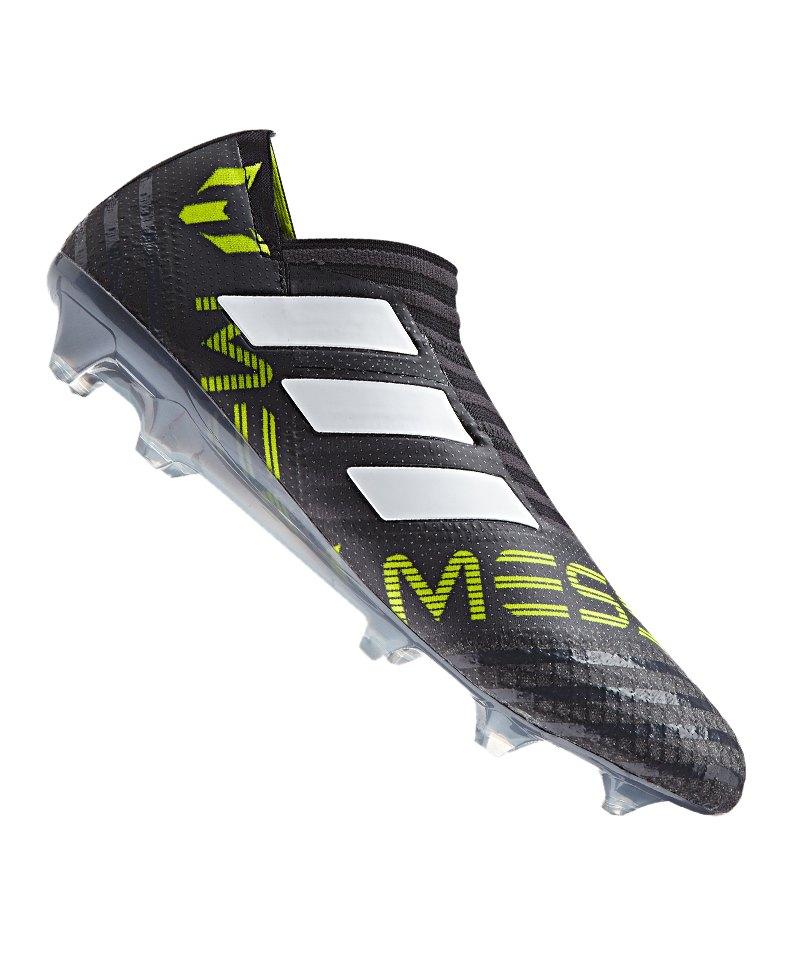 778e32b85f5 adidas NEMEZIZ Messi 17+ 360Agility FG Schwarz - schwarz