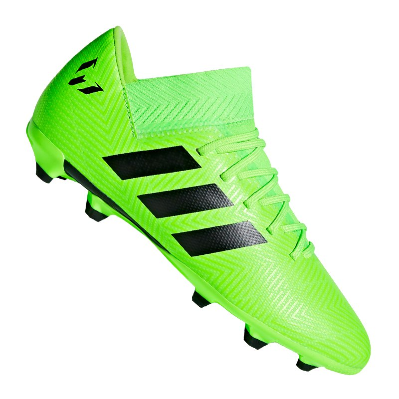 purchase cheap 74adb b3df6 adidas NEMEZIZ Messi 18.3 FG J Kids Grün Schwarz - gruen