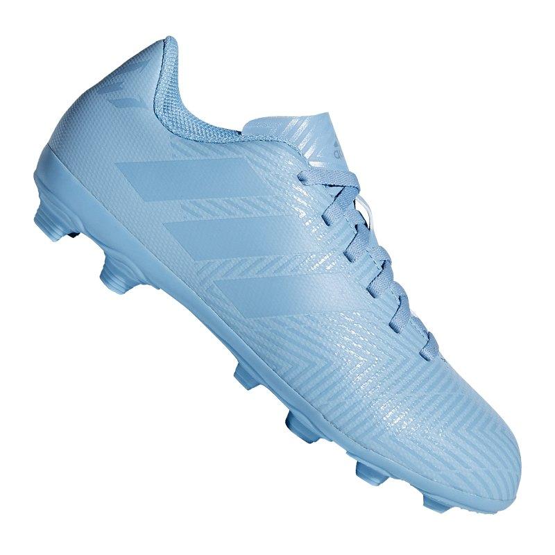 de731d6a530d adidas NEMEZIZ Messi 18.4 FxG J Kids Blau - blau