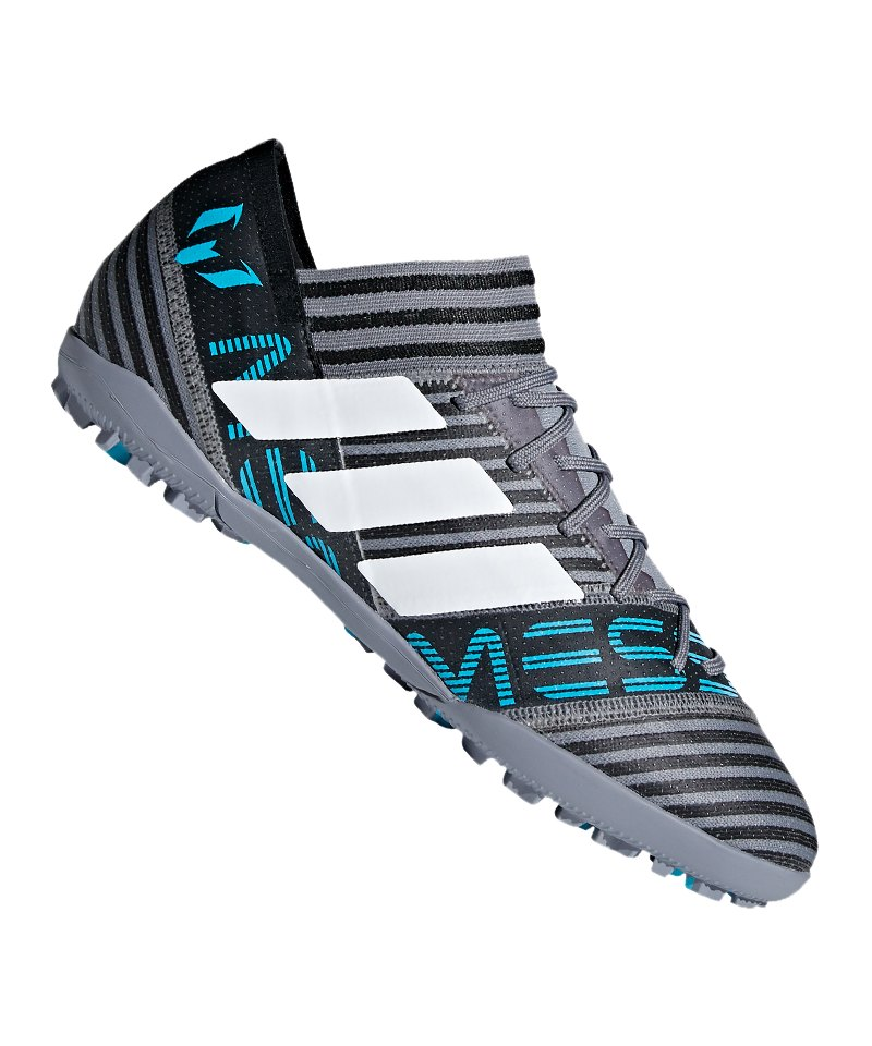 adidas NEMEZIZ Messi Tango 17.3 TF Grau Blau