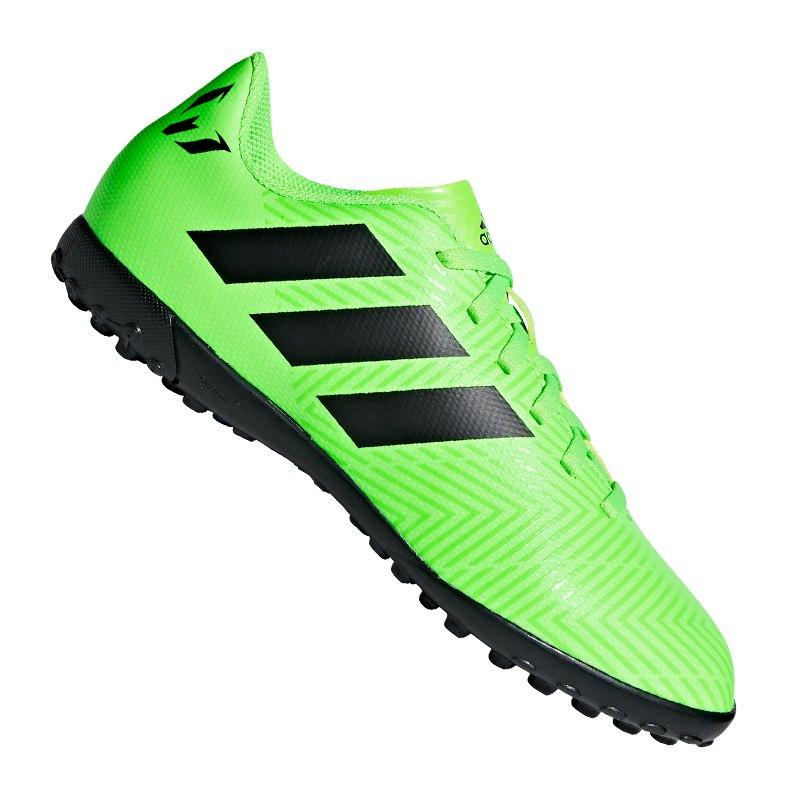 separation shoes ec114 02111 adidas NEMEZIZ Messi Tango 18.4 TF J Kids Grün - gruen