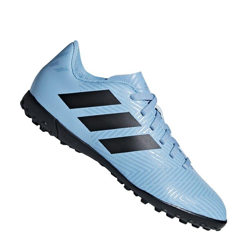 newest e6798 f9909 adidas NEMEZIZ Messi Tango 18.4 TF J Kids Blau - blau