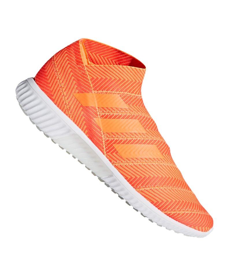 huge discount 70b5a e3c2a adidas NEMEZIZ Tango 18.1 TR Orange Schwarz - orange