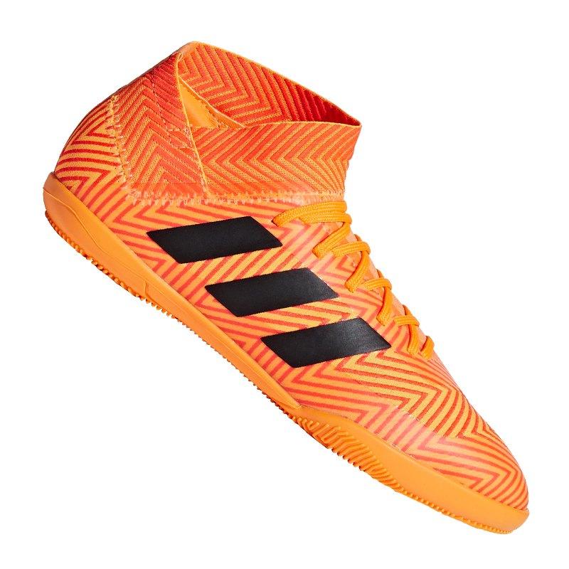 adidas NEMEZIZ Tango 18.3 IN J Kids Orange Schwarz