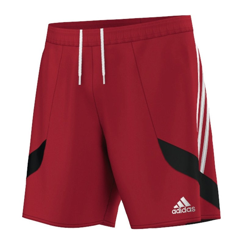 adidas nova 14 short hose kurz rot weiss trainingsshort. Black Bedroom Furniture Sets. Home Design Ideas