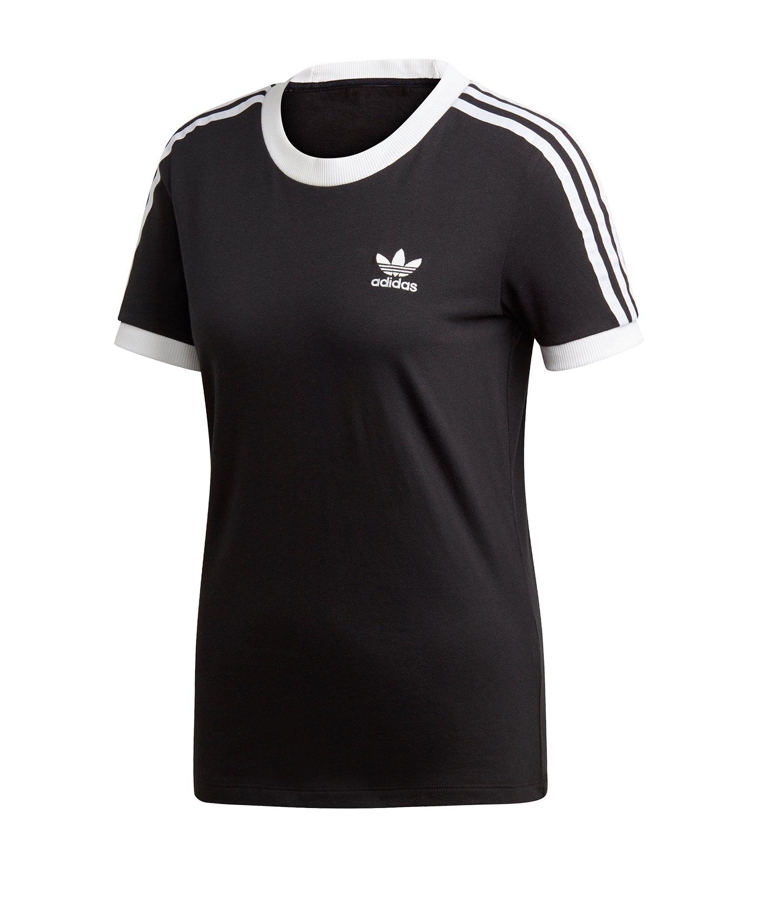 adidas Originals T Shirt T Shirt für Damen Schwarz