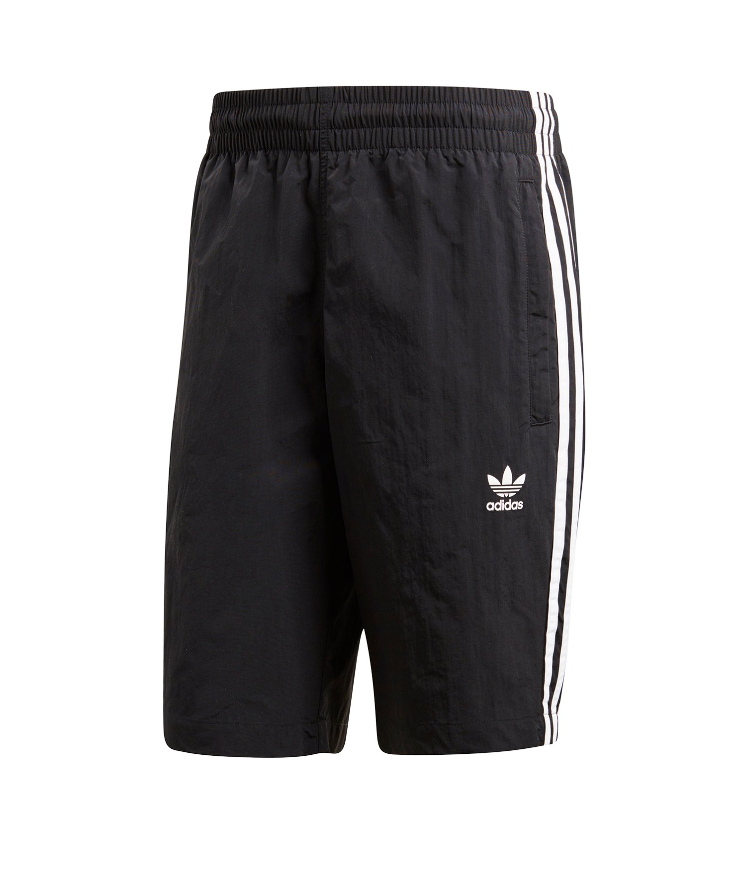 adidas Originals 3 Stripes Badehose Schwarz
