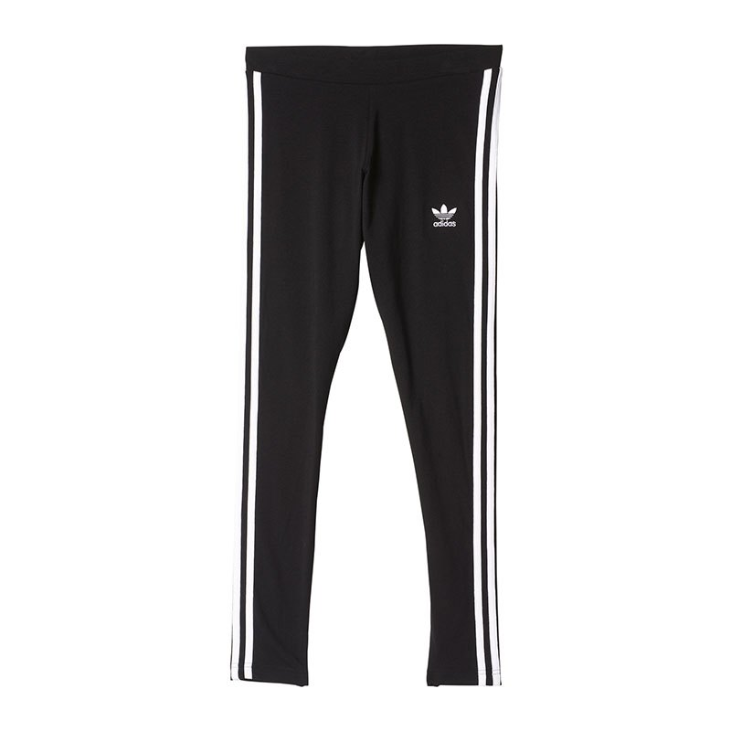 adidas originals 3 stripes leggings damen schwarz lifestyle freizeit hose frauen. Black Bedroom Furniture Sets. Home Design Ideas