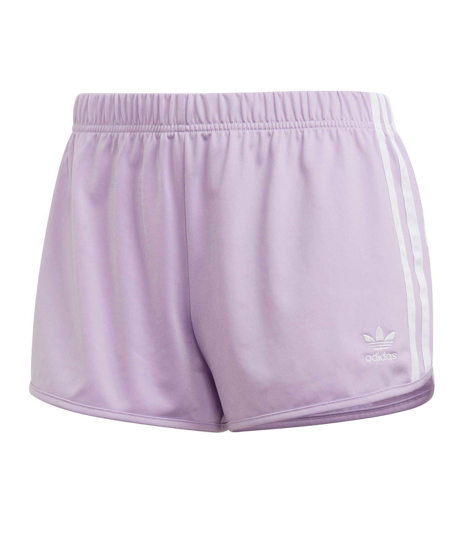 adidas Originals 3 Stripes Short Damen Lila