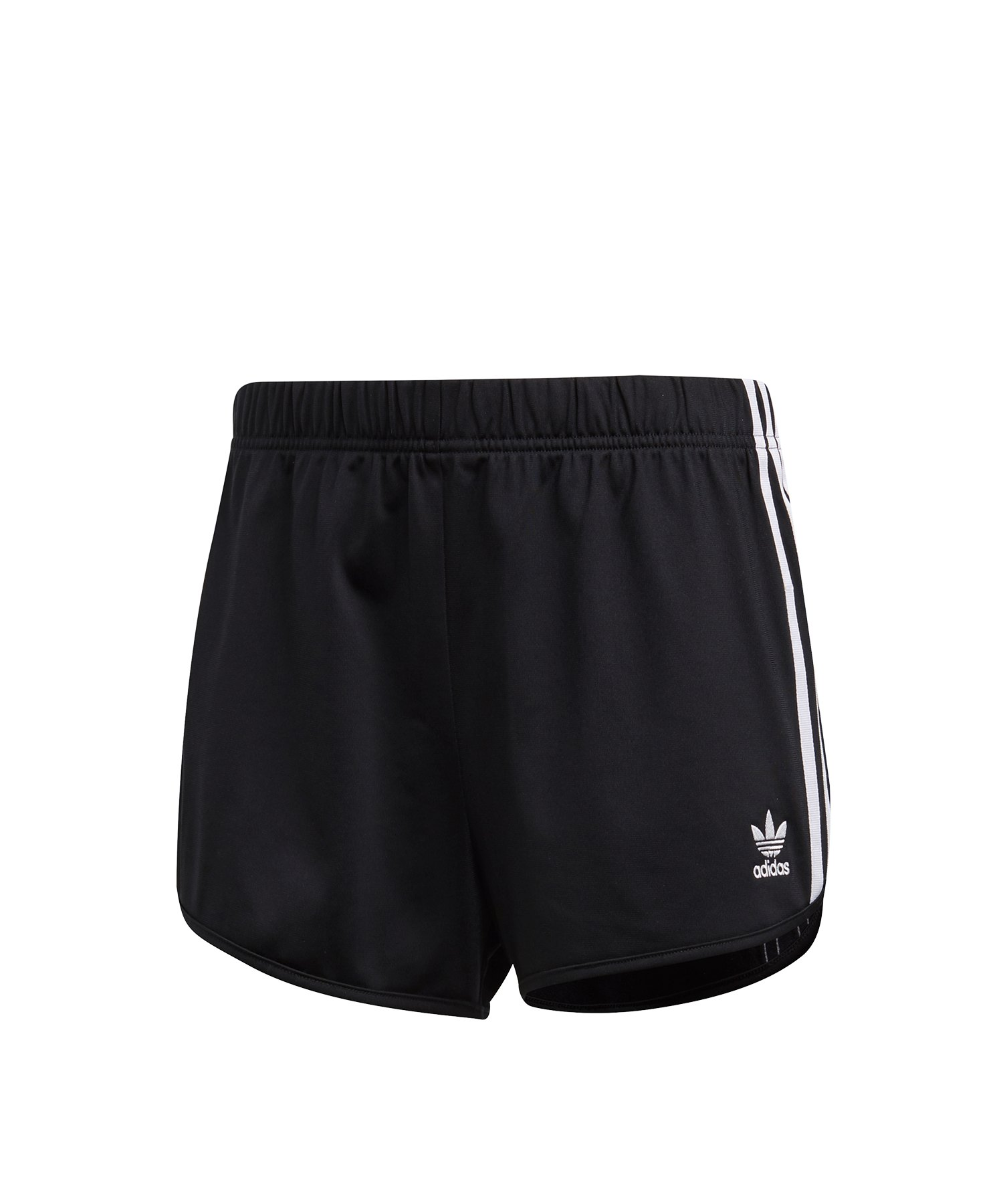 adidas Originals 3 Stripes Short Damen Schwarz